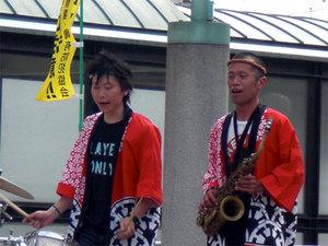 八木節の演奏