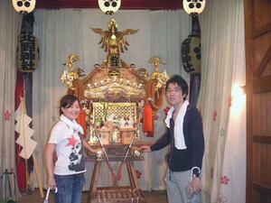 北野神社 神輿