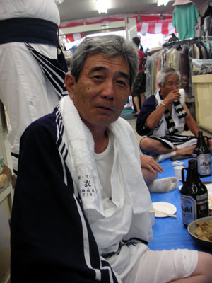 山あげ祭 松本さん